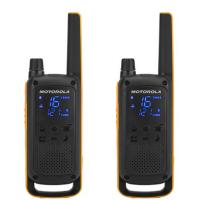 TLKR T82 EXTREME Motorola. Maletín con dos walkies y sus accesorios