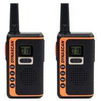 Pareja de walkies SF22 de Dynascan de 8 canales
